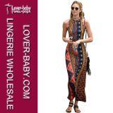 女性(L51323)のためのマキシの服のカジュアル衣類