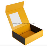二重フリップ折りたたみギフト用の箱を包む磁気クリスマスのスカーフ