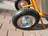 Carga pesada de Roda de Roda Dupla Barrow para a Europa