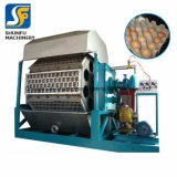 1000-1200PCS/H de Apparatuur van de Productie van de Machine van het Dienblad van het ei met de Droger van de Baksteen