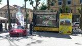 트럭, Trailler를 위한 P10 움직일 수 있는 광고 LED 단말 표시