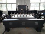 Macchina rotativa di legno rotonda professionale dell'incisione Machine/CNC (VCT-2225FR-8H)