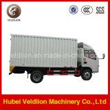 Dongfeng carro de la caja del camión de 3 toneladas