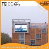 Mur polychrome extérieur DEL d'écran de centre commercial de P10 Adversting