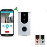 Дверной звонок кольца беспроволочный видео- с чернью APP камеры и диктора свободно