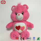 Rose doux de qualité charmant jouet en peluche avec coeur ours en peluche