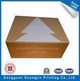 عادة جديدة تصميم غضّن ورقة صندوق مع ذهبيّة رقيقة معدنيّة ورقة يرقّق