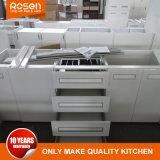 Горячая продажа ослепительно белый глянцевый краски кухонным шкафом