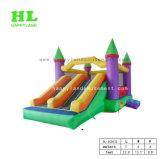 아이를 위한 다채로운 팽창식 결합 쾌활한 성곽