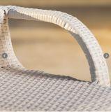 White Garden móveis de vime pátio piscina banquetas tipo bar (FS-SWB001 branco)