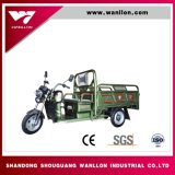Drei Pedal-elektrisches Bauernhof-Ladung-Fahrrad-Dreirad des Rad-48V800W