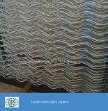De gegalvaniseerde Spiraalvormige Steun van de Installatie voor Installatie die Draad beklimt