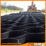 1400n/10cm Materiais de Construção de Plástico Geocell Estrada