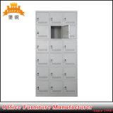 Les meubles en métal de 18 portes folâtrent le casier de vêtement de vestiaire de gymnastique