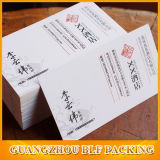 biglietto da visita di carta di 9X5.4cm (BLF-F111)
