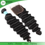 prix d'usine Ocean Wave Human Remy Hair Extension Cheveux humains