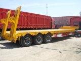 Semi Aanhangwagen van Lowbed van de Apparatuur van het Vervoer van de tri-as de Zware