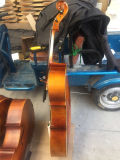 Les étudiants de bonne qualité flamme naturelles violoncelle avec le libre-violoncelle cas