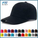 Gorra de béisbol en blanco de encargo con el sombrero de béisbol del papá de la insignia