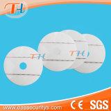 Em Label de segurança do CD (duas tiras)