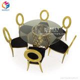 Acier inoxydable de meubles de banquet d'événement de mariage de restaurant d'hôtel dinant la présidence