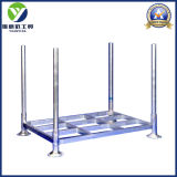 Post Heavy Duty Hot Galvanized Warehouse Pallet Rack / Steel Palettes