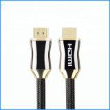 Kabel 2.0 van de Vlecht HDMI van de Legering van het zink 3D 4K Kabel van HDMI voor TV PS4 Bluray HDTV xBox