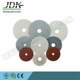 Diamond polimento flexíveis para betão