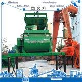 Alta pequeña máquina gemela productiva popular del mezclador concreto del eje de los materiales de construcción Js500