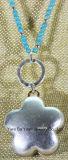 Nam het AntiZilver van de manier en de Gouden Halsband van de Tegenhanger van de Bloem toe