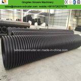 Interior de plástico PE mejorar la extrusión de tubo devanado en espiral máquina de producción
