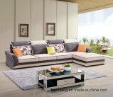 Современное дизайн хлопок постельное белье ткани диван, шезлонгами гостиная диван 2015-1