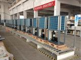 商業25~300cubeメートルのTheromostat 32deg c 12kw/19kw/35kw/70kw Cop4.62 R410Aのチタニウムの管の熱のプールのヒートポンプ