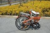 新しいモデルのスマートな電気携帯用折る自転車のリチウム力