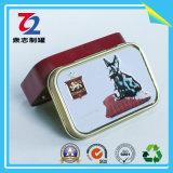 Коробка олова конфеты металла (95mm*60mm*21mm)