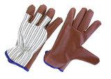 Для тяжелого режима работы нитриловые перчатки гильзы Джерси ламината--5405