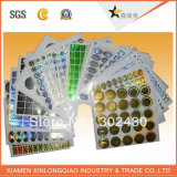 Adesivi stampati di plastica di carta su ordinazione impermeabilizzano l'autoadesivo Scratch-Proof di stampa del contrassegno