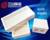 Personalizzare l'allumina Saggar di ceramica