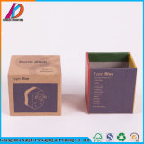 Buntes Drucken-kleiner faltender Packpapier-Kasten für das elektronische Verpacken