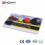 Legível e gravável T5577+Hf Cartão de Freqüência Dupla de RFID