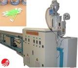Macchina di plastica dell'espulsione del bastone del tampone di cotone del PE di alta efficienza pp