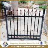 Spear Top PVC Power Coated Pool Iron Fence Metal Farm Fence Garden Fencing