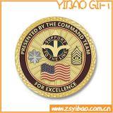 Монетки возможности штемпелюя плашек металла цены по прейскуранту завода-изготовителя медные изготовленный на заказ с логосом для Collectible и сувенира (YB-c-016)