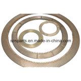 Excavadora Motor de desplazamiento de piezas de la placa de fricción del disco