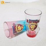 Taza china del vidrio de las botellas de agua de la etiqueta del león del surtidor