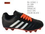 Noir et orange Lady's Stock Chaussures Chaussures de football 35-38#