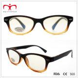 반대로 Reflective Lens (WRP410302AR)를 가진 숙녀 Plastic Computer Reading Glasses