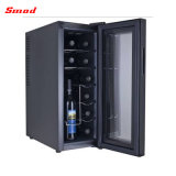 Refrigerador termoeléctrico casero portable del vino de Ues de 12 botellas
