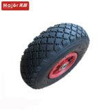 Carrinho de 10 polegadas Wheelbarrow 3.00-4 roda de borracha pneumático
