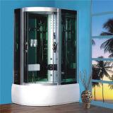 Desplazamiento de la esquina el bastidor de cuarto de baño de vapor de cabina de ducha deslizante 120X80